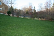 Western Red Cedar Split Rail