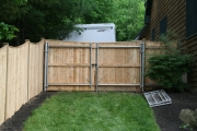 Cedar Board Gate with Header