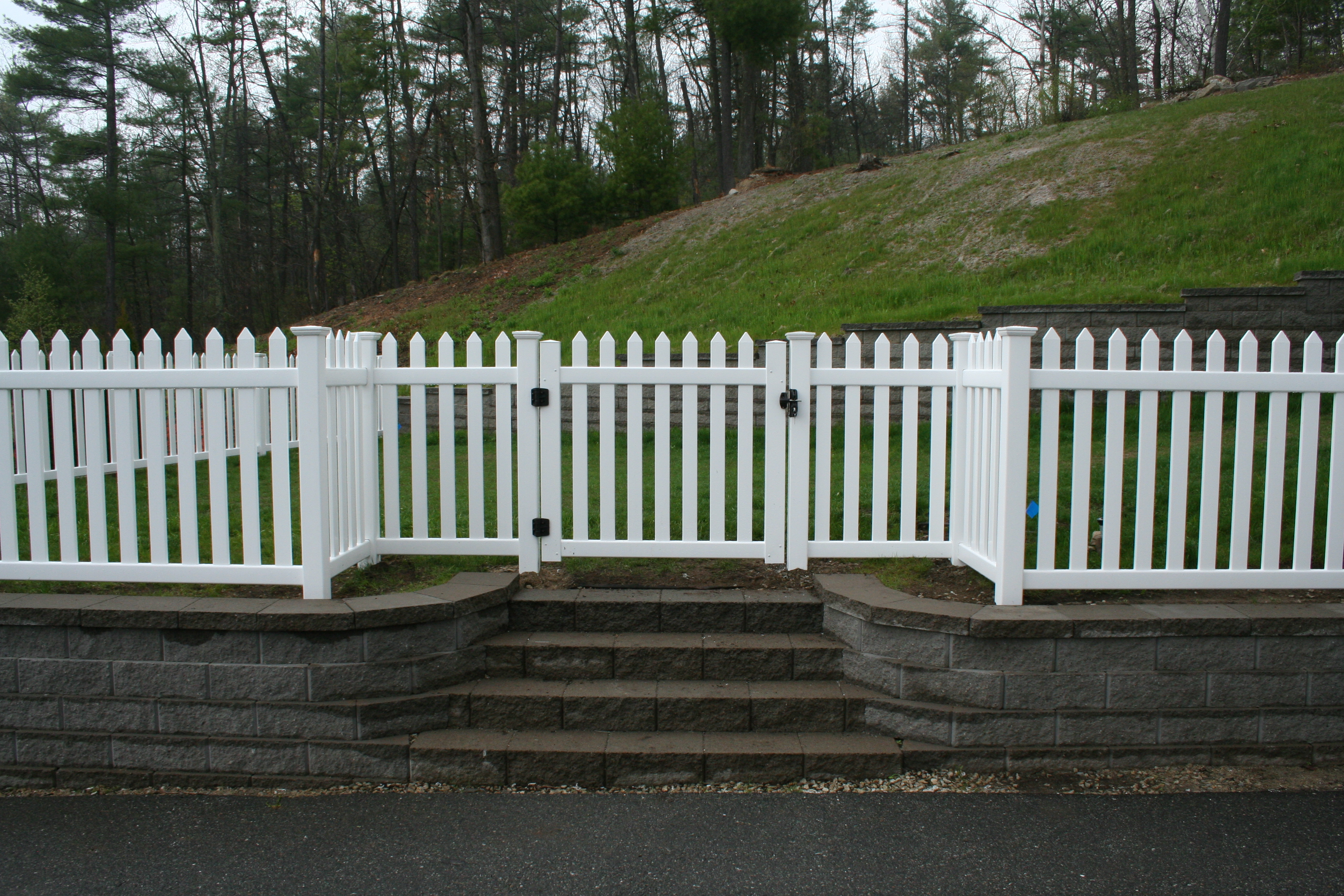 Nh Vinyl Fence Photos Penney Fence Londonderry Nh